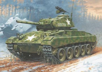 M24 Chaffee · RE 03323 ·  Revell · 1:76