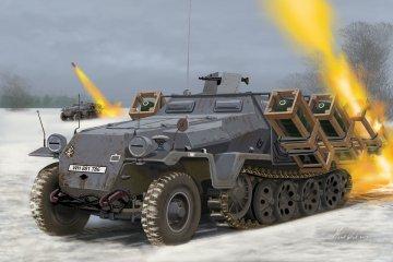 Sd.Kfz. 251/1 Ausf. C + Wurfrahmen · RE 03324 ·  Revell · 1:72
