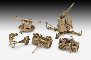 8,8 cm Flak 37 + Sd.Anhänger 202 · RE 03325 ·  Revell · 1:72