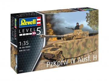 Panzer IV Ausf. H · RE 03333 ·  Revell · 1:35