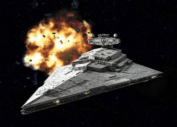 Imperial Star Destroyer · RE 03609 ·  Revell