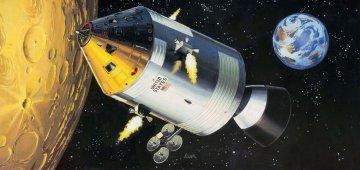 Apollo 11 Spacecraft with Interior · RE 03703 ·  Revell · 1:32