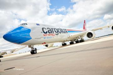 Boeing 747-8F CARGOLUX LX-VCF - Facemask · RE 03836 ·  Revell · 1:144