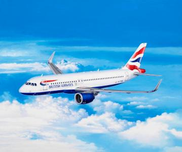 Airbus A320 neo - British Airways  · RE 03840 ·  Revell · 1:144