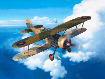 Gloster Gladiator Mk. II · RE 03846 ·  Revell · 1:32
