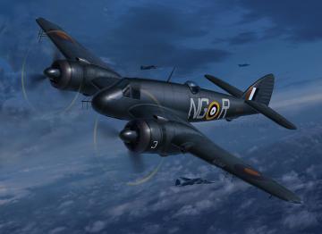 Beaufighter IF Nightfighter · RE 03854 ·  Revell · 1:48