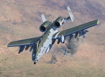 A-10 A/C Thunderbolt II · RE 03857 ·  Revell · 1:72