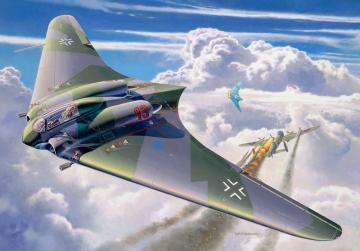 Horton Go 229 A-1 Flying Wing · RE 03859 ·  Revell · 1:48