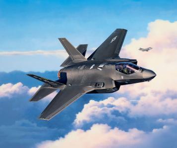 F-35A LightningII · RE 03868 ·  Revell · 1:72