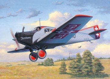 Junkers F.13 · RE 03870 ·  Revell · 1:72