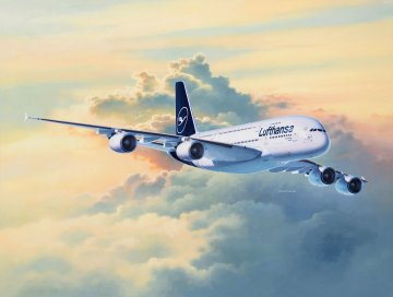 Airbus A380-800 Lufthansa New Livery · RE 03872 ·  Revell · 1:144