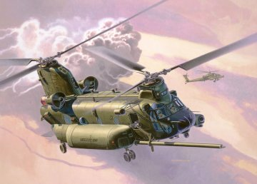MH-47 Chinook · RE 03876 ·  Revell · 1:72