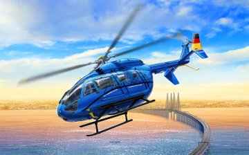 Eurocopter EC 145  · RE 03877 ·  Revell · 1:72