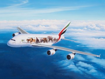 Airbus A380-800 Emirates Wild Life · RE 03882 ·  Revell · 1:144