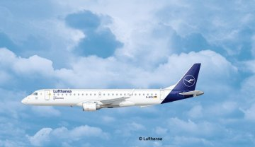 Embraer 190 Lufthansa New Livery · RE 03883 ·  Revell · 1:144