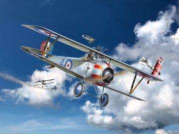 Nieuport 17 · RE 03885 ·  Revell · 1:48