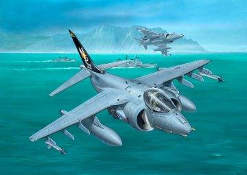 BAe Harrier GR.7 · RE 03887 ·  Revell · 1:144