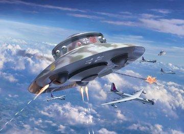 Flying Saucer Haunebu · RE 03903 ·  Revell · 1:72