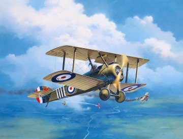 100 Years RAF: Sopwith Camel · RE 03906 ·  Revell · 1:48
