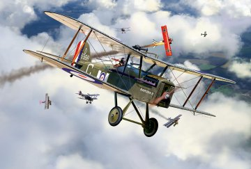 100 Years RAF: British S.E. 5a · RE 03907 ·  Revell · 1:48