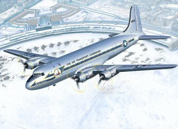 C-54D Berlin Airlift 70th Anniversary · RE 03910 ·  Revell · 1:72