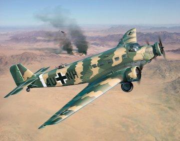 Junkers Ju52/3m Transport · RE 03918 ·  Revell · 1:48