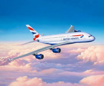 Airbus A380-800 - British Airways · RE 03922 ·  Revell · 1:144