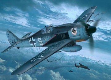 Focke Wulf Fw 190 A-8 Nightfighter · RE 03926 ·  Revell · 1:32