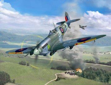 Spitfire Mk.IXC · RE 03927 ·  Revell · 1:32