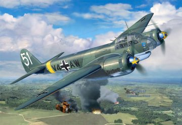 Junkers Ju 88 A-4 · RE 03935 ·  Revell · 1:48