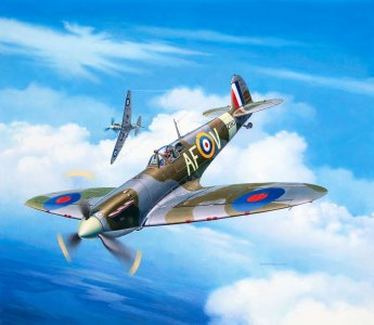 Spitfire Mk.IIa · RE 03953 ·  Revell · 1:72