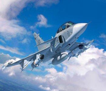 Saab JAS-39D Gripen TwinSeater · RE 03956 ·  Revell · 1:72
