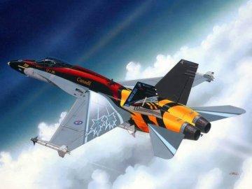 F/A-18 C Hornet · RE 04001 ·  Revell · 1:144