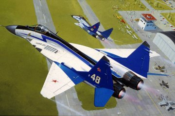 MiG-29 The Swifts · RE 04007 ·  Revell · 1:144