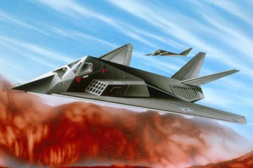 F-117 Stealth Fighter · RE 04037 ·  Revell · 1:144
