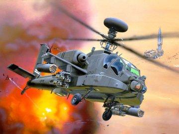 Hughes AH-64D Apache Longbow · RE 04046 ·  Revell · 1:144