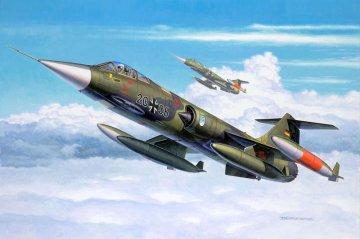 F-104 G Starfighter · RE 04060 ·  Revell · 1:144
