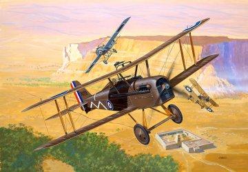 Royal Aircraft Factory S.E. 5a · RE 04061 ·  Revell · 1:72