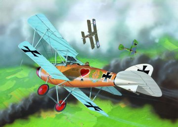 Albatros D.III · RE 04062 ·  Revell · 1:72