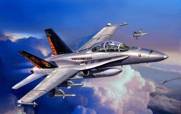 F/A-18D Hornet ´Wild Weasel´ · RE 04064 ·  Revell · 1:144