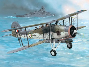 Fairey Swordfish Mk.I/III · RE 04115 ·  Revell · 1:72
