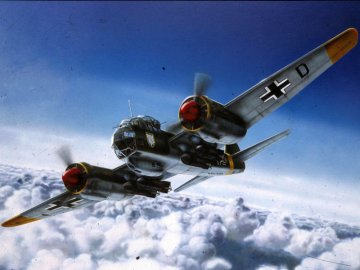 Junkers Ju 88 A-4/D-1 · RE 04130 ·  Revell · 1:72