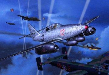 Messerschmitt Me 262 B-1a/U1 Nightfighter · RE 04179 ·  Revell · 1:72