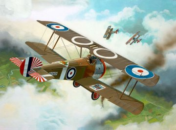 Sopwith F-1 Camel · RE 04190 ·  Revell · 1:72