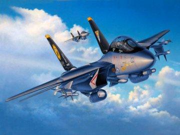 F-14D Super Tomcat `Last Flight` · RE 04195 ·  Revell · 1:72
