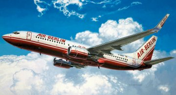 Boeing 737-800 Air Berlin · RE 04202 ·  Revell · 1:144
