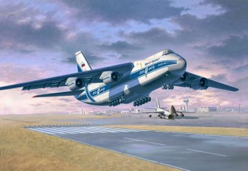 Antonov An-124 Ruslan · RE 04221 ·  Revell · 1:144
