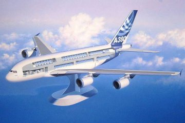Airbus A380 - Visible Interior · RE 04259 ·  Revell · 1:144
