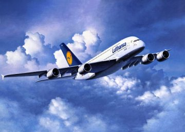 Airbus A380-800 Lufthansa · RE 04270 ·  Revell · 1:144