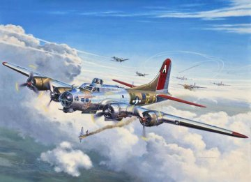B-17G Flying Fortress · RE 04283 ·  Revell · 1:72